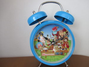 当選品 ルフィのボイス入り目覚まし時計
