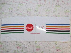 当選品 Wチャンス コカ・コーラオリジナルスポーツタオル