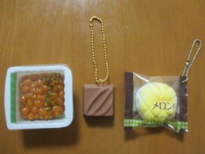 100円ショップ キャンドゥで買ったミニ食品サンプル